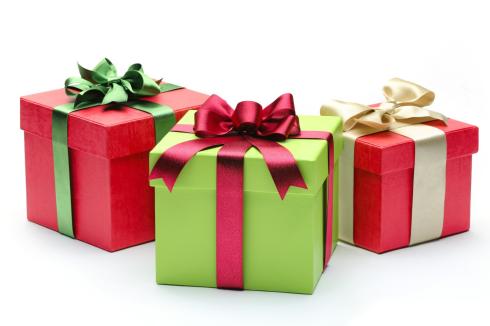 3 Christmas gifts