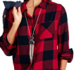 Plaid Shirt by Faded Glory $10