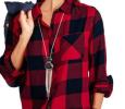 Plaid Shirt by Faded Glory $10